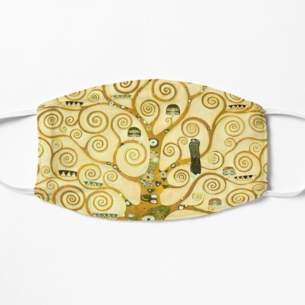 """Gustav Klimt """"Tree of life"""" (detail) Mask"""