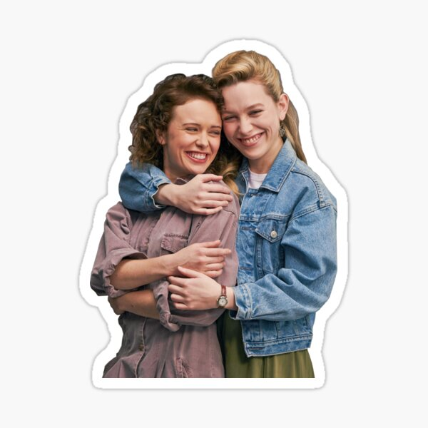 Dani and Jamie Haunting of Bly Manor Sticker