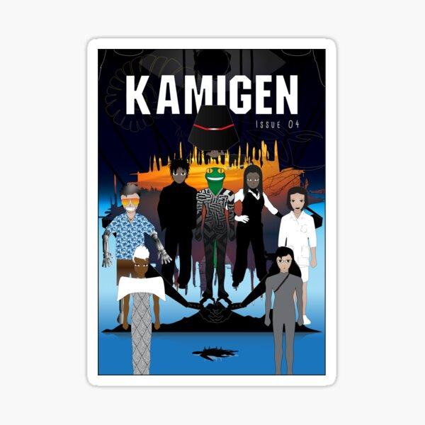 Kamigen Issue 4 Cover Sticker