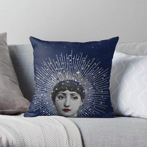 Queen of Stardust Throw Pillow