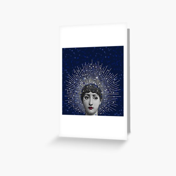 Queen of Stardust Greeting Card