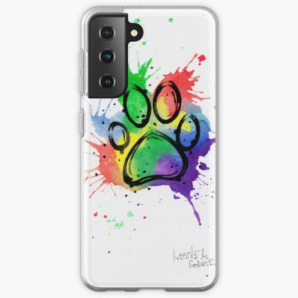 Dog Paw Samsung Galaxy Soft Case