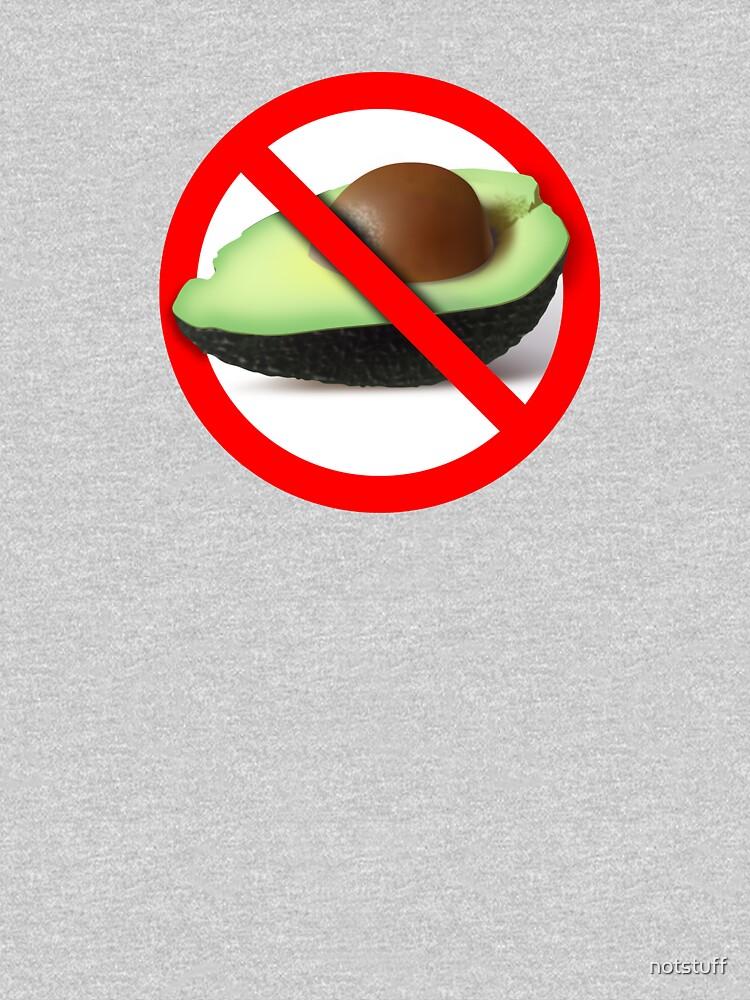 No Avocado by notstuff