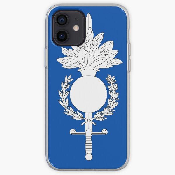 Force de gendarmerie européenne Coque souple iPhone