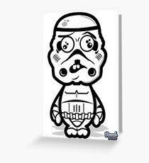 Dumb Trooper Greeting Card