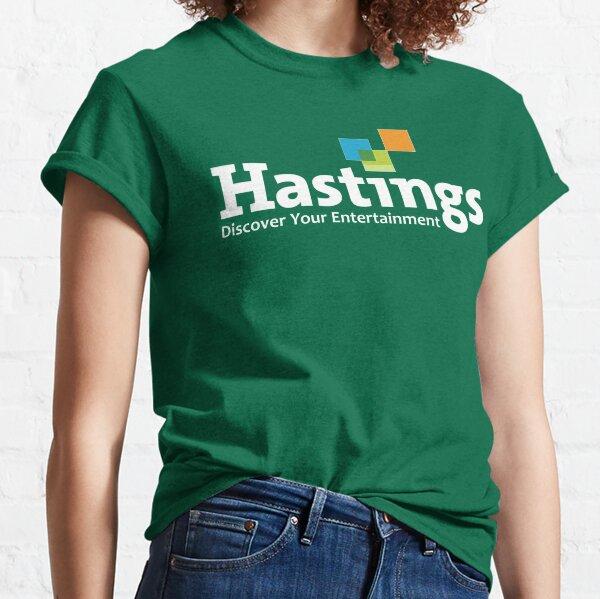 Hastings Entertainment - White Classic T-Shirt
