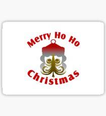 Merry Ho Ho Christmas Sticker