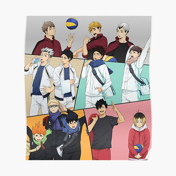"Haikyuu !! Vers le haut (affiche 24 ""x 26"") Poster"