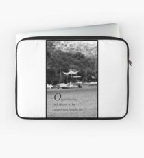 Catching opportunities Laptop Sleeve