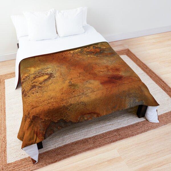 'Mars' In Gold, Bronze and Copper  Comforter