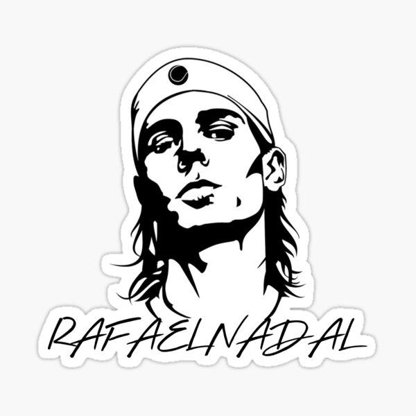Rafael Nadal - Rafa Nadal Roland Garros Sticker
