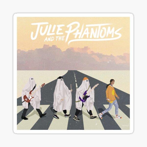 Julie et les fantômes sur Abbey Road Sticker