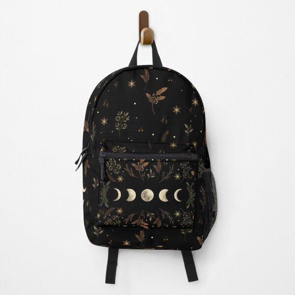 Moonlit Garden-Winter Brown Backpack