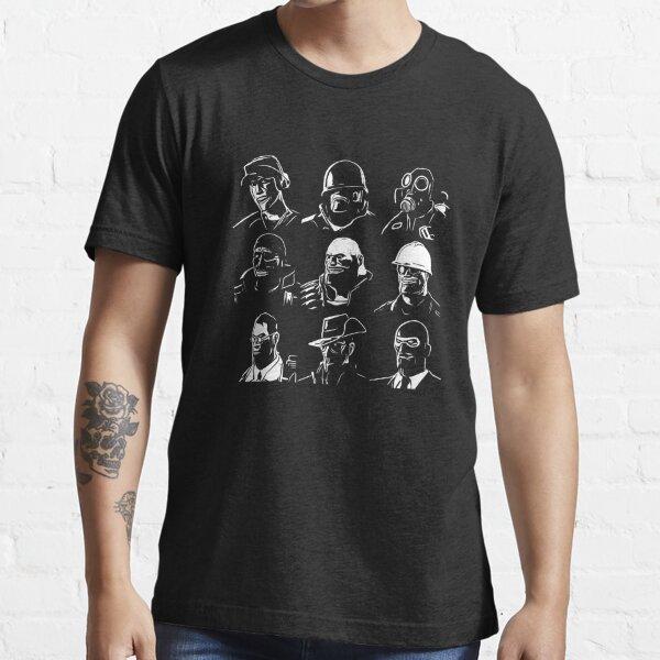 TF2 Mercenaries Essential T-Shirt