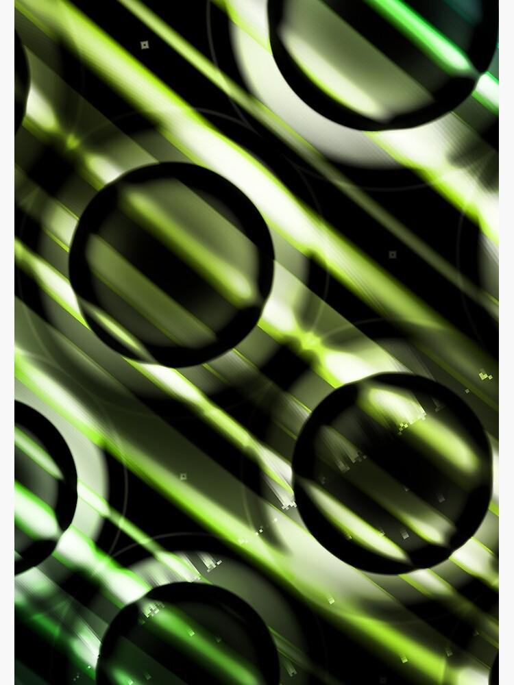 Green Yellow Blue Circles Design by garretbohl
