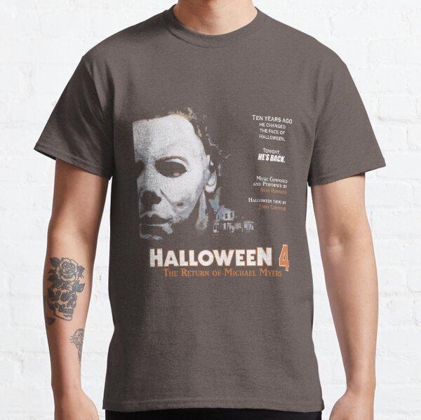 Halloween 4 Le retour de Michael Myers T-shirt à manches longues T-shirt classique