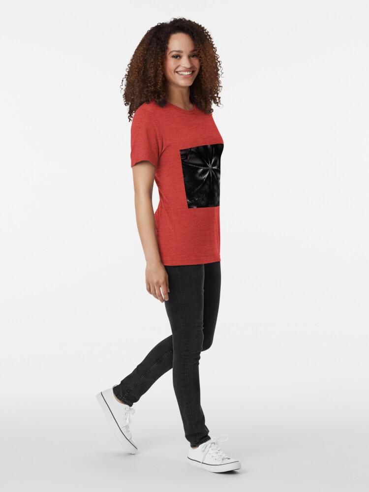 Alternate view of Desire - Dark Bow Art Tri-blend T-Shirt