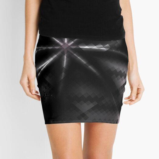 Desire - Dark Bow Art Mini Skirt