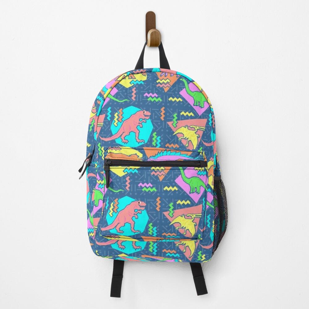 Nineties Dinosaurs Pattern Backpack