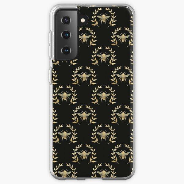 Distressed Golden Bee Samsung Galaxy Soft Case