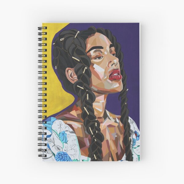 Long Hair Don't Care Spiral Notebook
