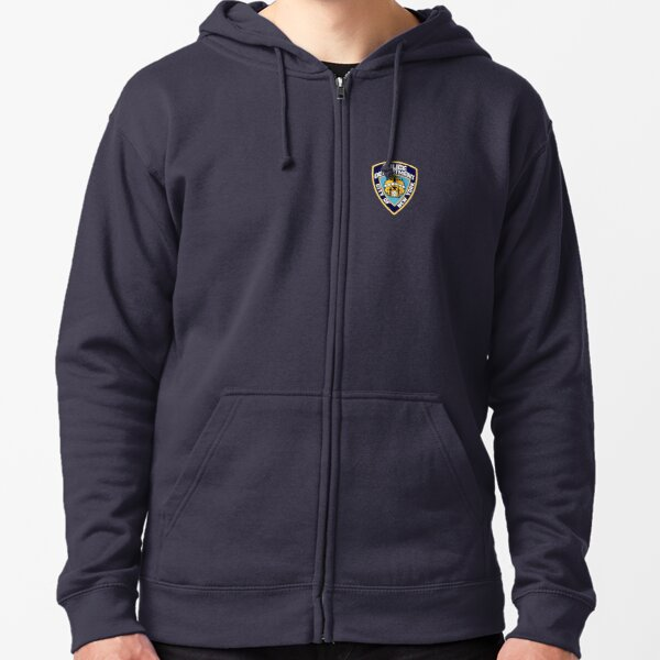 NYPD Zipped Hoodie