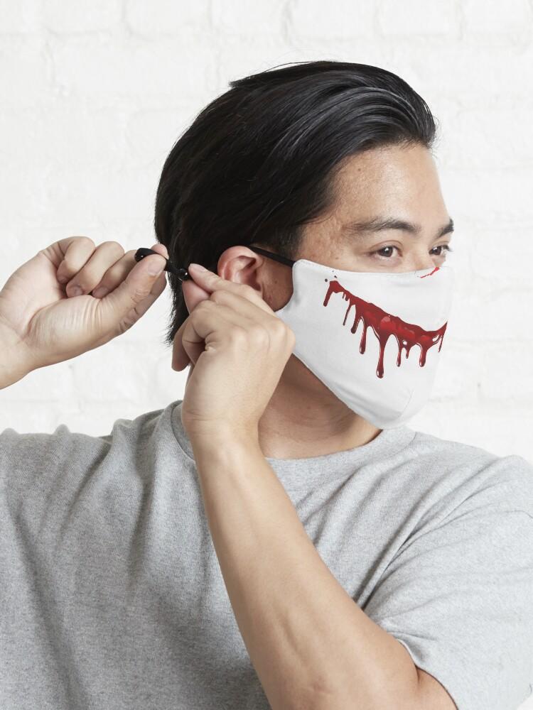 Alternate view of Halloween Slasher  Mask