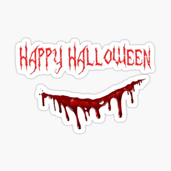 Halloween Slasher  Sticker