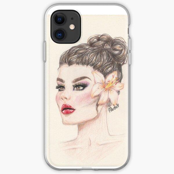 Flower girl iPhone Soft Case