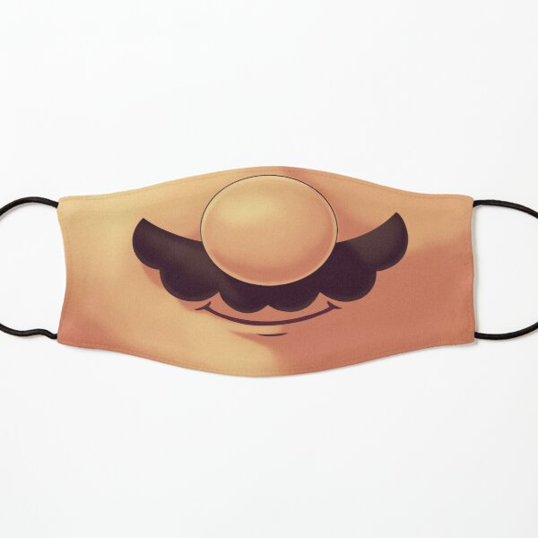 Plumber Mustache Mask  // Funny Mouth, Gaming Classics, 80s 90s Platformer Kids Mask