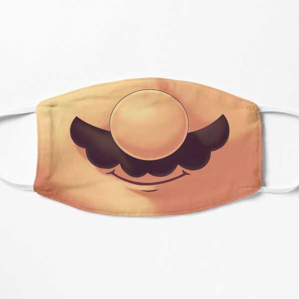 Plumber Mustache Mask  // Funny Mouth, Gaming Classics, 80s 90s Platformer Mask