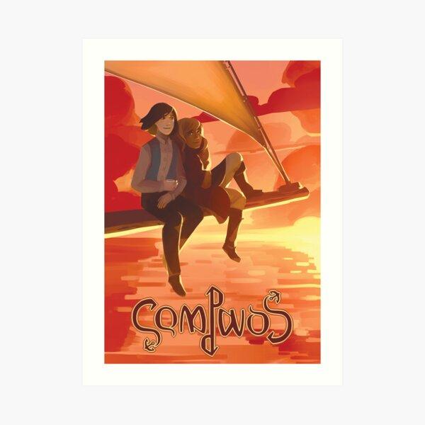 Compass - Official poster Art Print