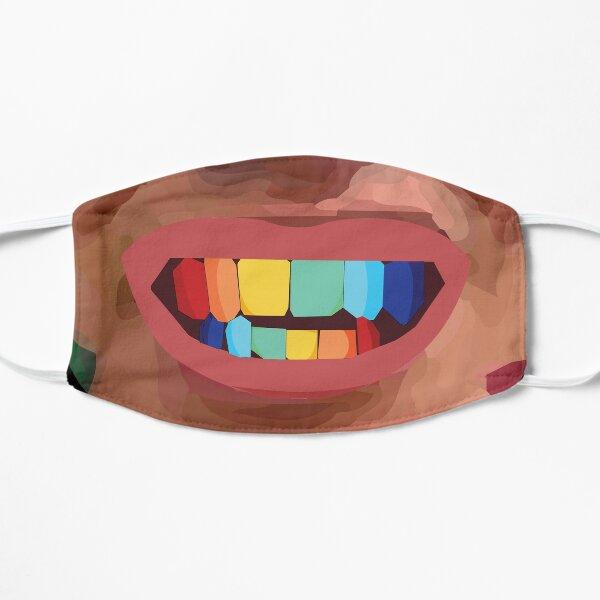 Tekashi 69 dientes Mascarilla plana