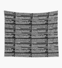 Catfish&the bottlemen lyrics Wall Tapestry