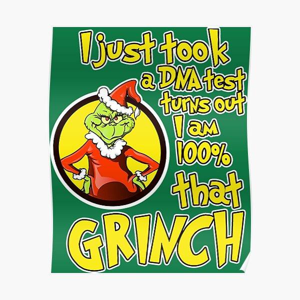 Team Grinch Poster