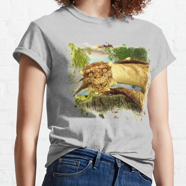 Friendly dragon shows its teeth Classic T-Shirt