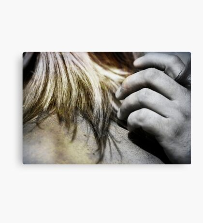 I love your touch Canvas Print