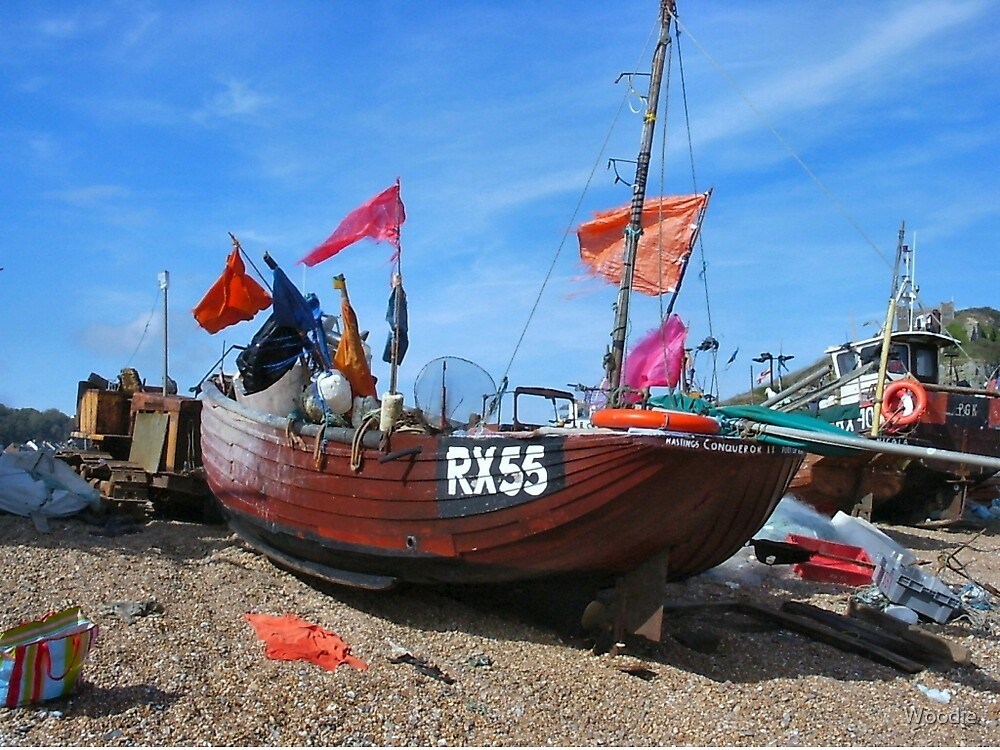 Deal fishing boat RX55 by Woodie