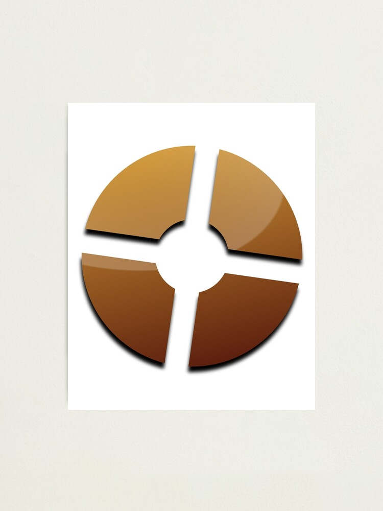 Team Fortress 2 Tf2 Logo Photographic Print By Hansbald