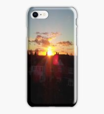 Suburb Sunset iPhone Case/Skin