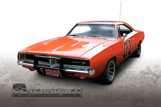 Dukes of Hazzard General Lee - 1969 Dodge Charger by Drogobroadband