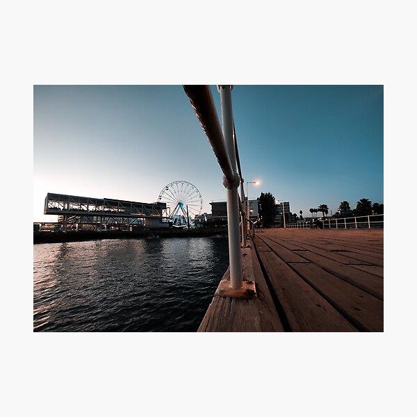Limassol Molos Pier Photographic Print
