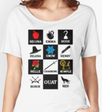 Oncer Symbols Women's Relaxed Fit T-Shirt