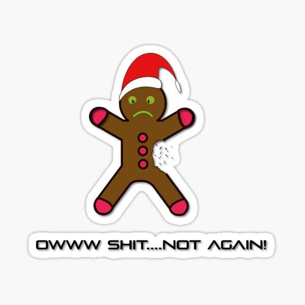 Christmas time - Aqua Libra  Sticker