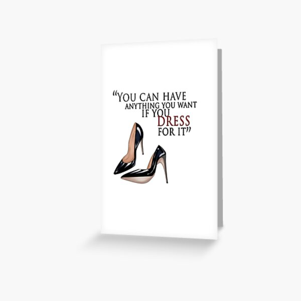 """""""Dress for it"""" Greeting Card"""