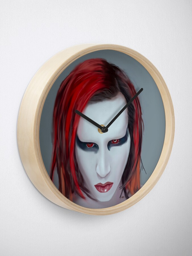 Alternate view of Mechanical Animals Clock
