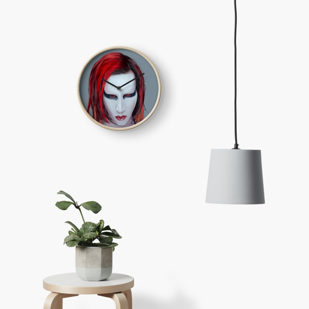 Mechanical Animals Clock
