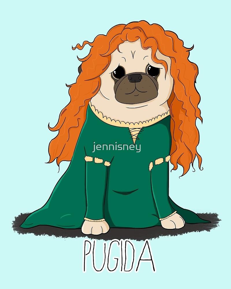 Pugida! by jennisney