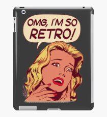 OMG, Im So Retro iPad Case/Skin