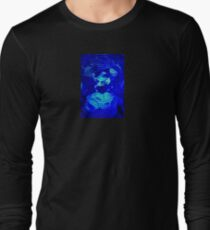 Blue Circles Long Sleeve T-Shirt